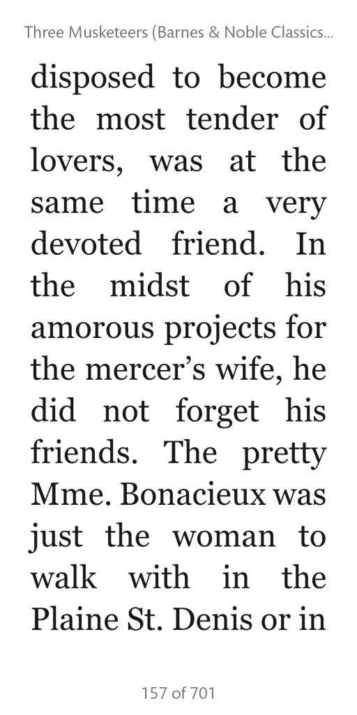 Screenshot of a book page in the Nook app on a smartphone.